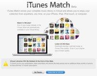 Apple distribuye una nueva beta de iTunes 6.1 con iCloud iTunes Match, disponible la reproducción de música mediante streaming
