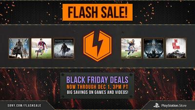 Sony anuncia sus respectivos descuentos 'Black Friday' para juegos de la PS Store