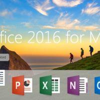 Office 2016 para Mac ya está disponible para los suscriptores de Office 365