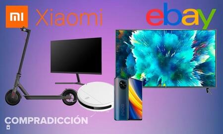 Estos smartphones, televisores, robots aspiradores o patinetes Xiaomi salen mucho más baratos en eBay con estos cupones
