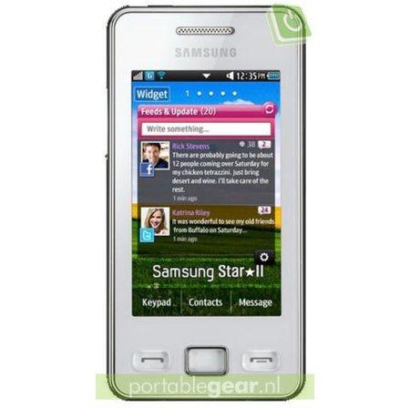 Samsung renueva su exitoso S5230 Star