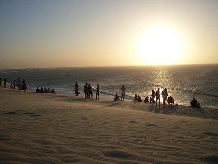 Tomar el sol en la playa
