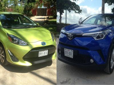 Toyota Prius C y C-HR, dos peces que se sienten muy bien fuera del agua
