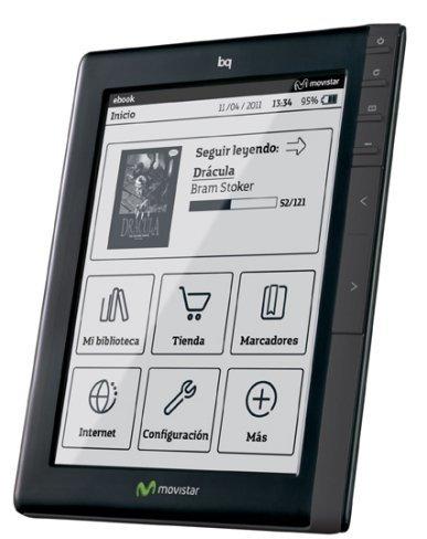 Movistar ebook bq sale a la caza del lector español