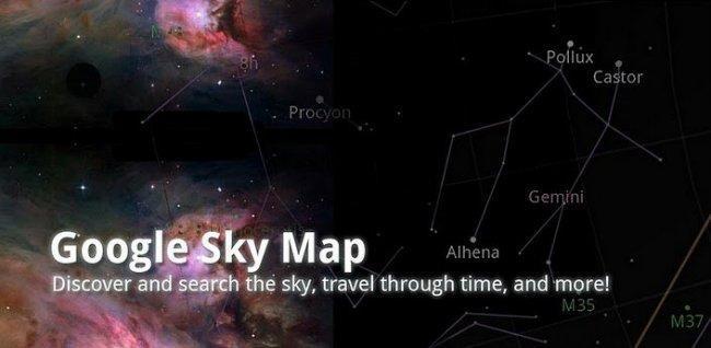 navegar entre estrellas e planetas, seguir os seus movementos no tempo e no espazo.cio.