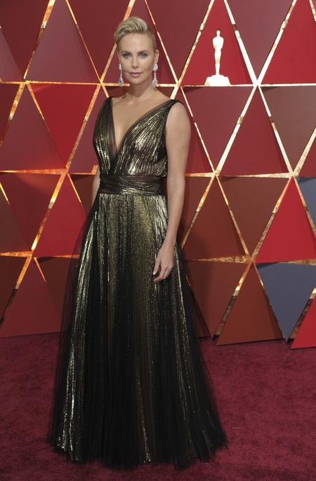 Charlize Theron Dior Oscars2017