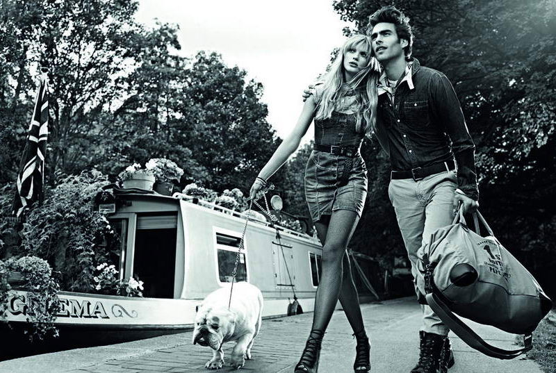 Foto de Pepe Jeans, campaña Primavera-Verano 2010: con Jon Kortajarena y Anne Vyalitsyna (2/5)
