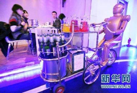 Abierto el primer restaurante atendido exclusivamente por robots