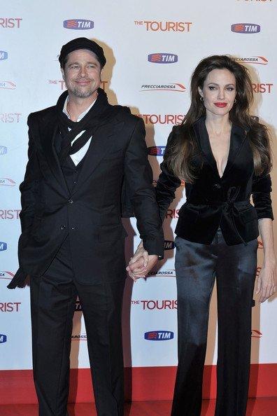 Angelina Jolie en Roma
