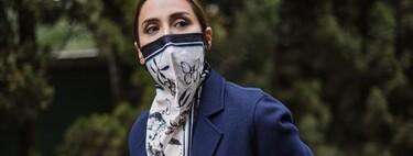 Tamara Falcó se inspira en Olivia Palermo y luce la mascarilla más elegante del omento