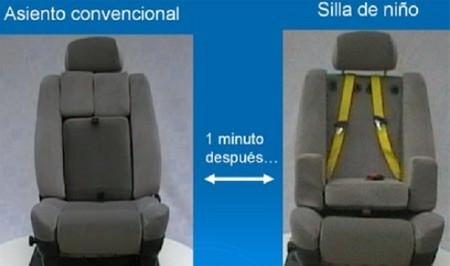 El invento de la futura silla para niños en el coche es español