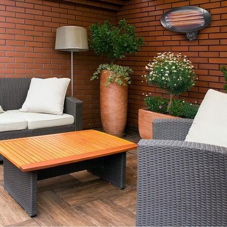 Calentadores de exterior; la inversión de este año para la terraza que te permitirá pasar las Navidades en el exterior