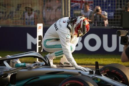 Hamilton Mercedes F1 2019