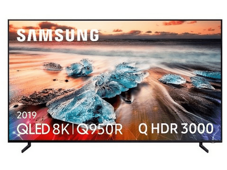 "TV QLED 55"" - Samsung QE55Q950, 8K, HDR Q 3000, Quantum Processor 8K, Direct Full Array Elite"
