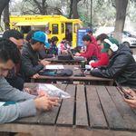 Combates Pokémon al aire libre con Food Trucks en Monterrey