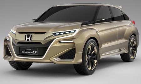 Honda Concept D, otro SUV desde Shanghái