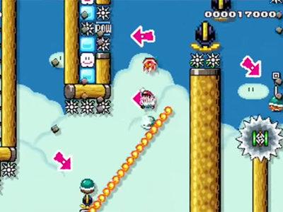 Más de 45 horas fue lo que necesitó el creador de este nivel de Super Mario Maker para poder superarlo