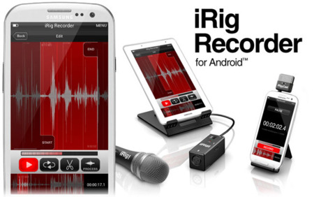 iRig Recorder ya disponible para Android