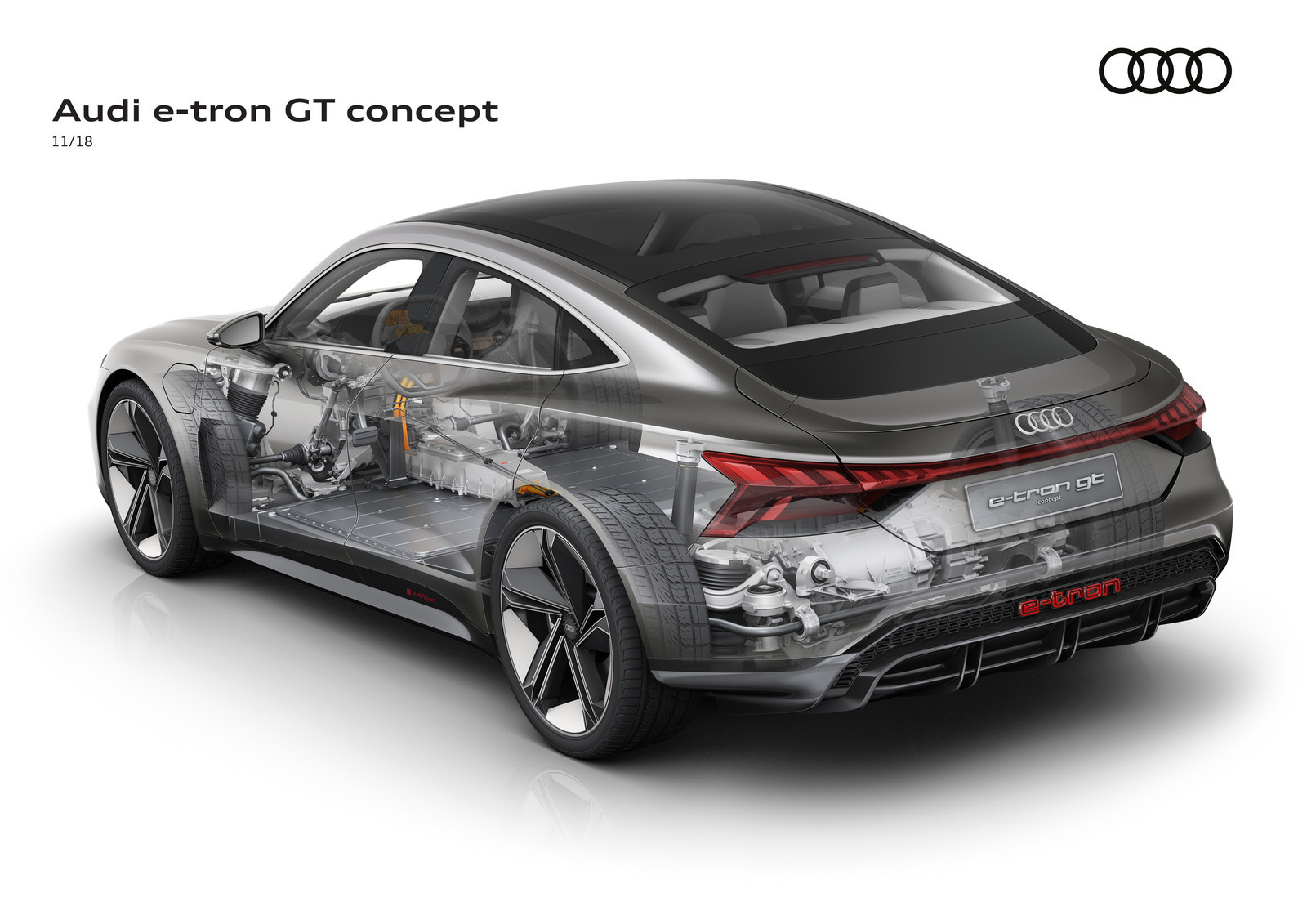 Foto de Audi e-tron GT concept 2018 (11/55)