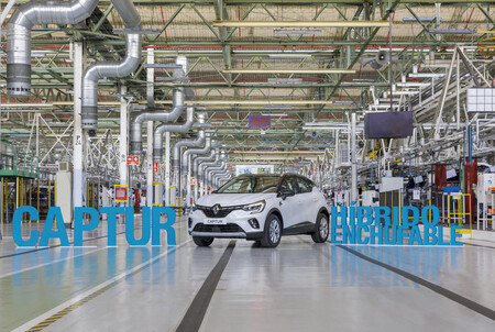 Renault Captur Hibrido Enchufable