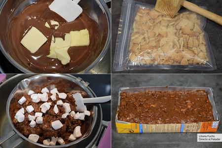 Turrón de Chocolate. Pasos
