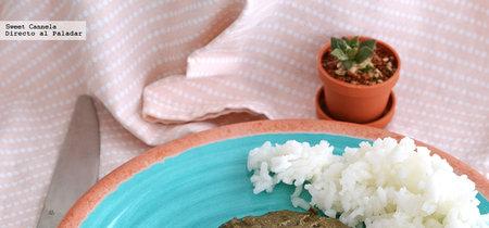 Pechugas de pollo en salsa de huitlacoche. Receta mexicana