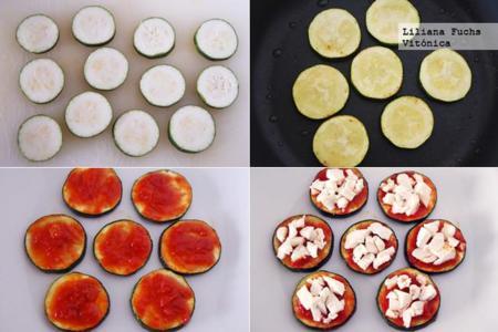 Mini Pizzas Calabacin Pasos