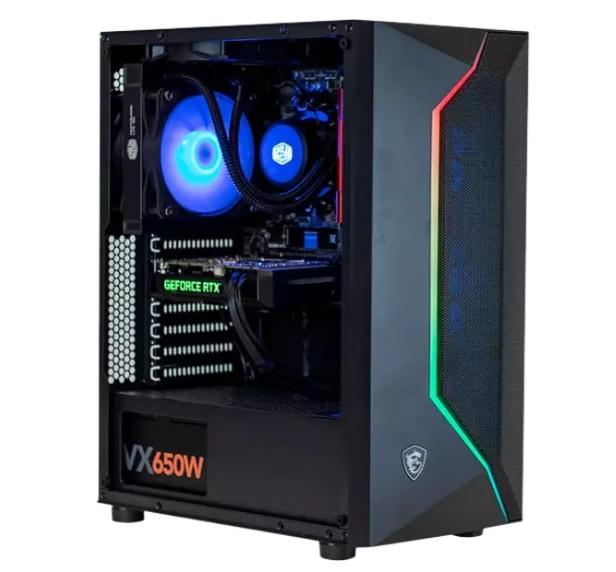 PC gaming - PC Clon B550, AMD Ryzen™ 5 PRO 3600, 16 GB RAM, 250 GB SSD + 1 TB HDD, GeForce RTX 3060, W10