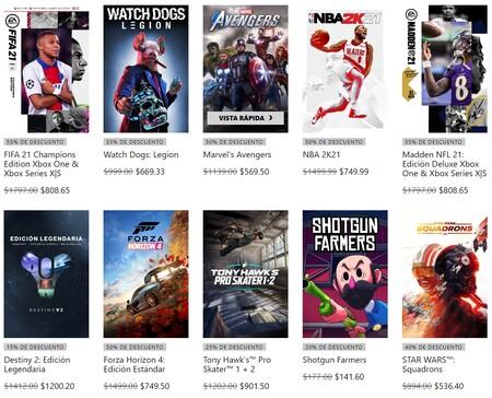 Juegos de Xbox One, Xbox 360, y PC en oferta por Black Friday