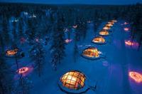 Hoteles curiosos: durmiendo en un iglú de cristal