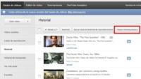 Impide que YouTube almacene los videos que has visto y tus búsquedas