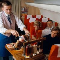 Cuando la gastronomía en las líneas aéreas era cosa seria