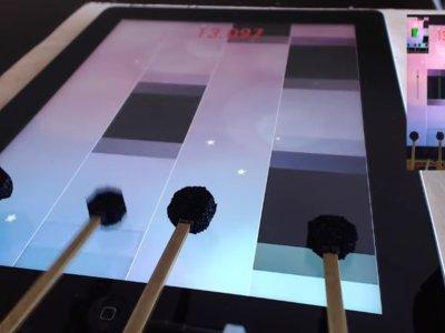 Este frenético robot demuestra cómo se juega de verdad en el iPad