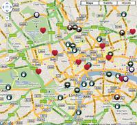 Londres de cine: mapa interactivo de locaciones
