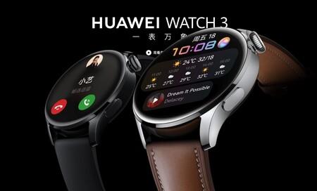 Huawei Watch 3 y Huawei Watch 3 Pro: múltiples estilos, plena potencia, materiales de lujo y HarmonyOS