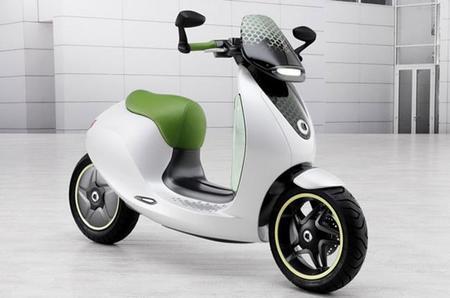 Smart se alía con Vectrix para fabricar su scooter eléctrica
