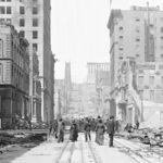 Espectaculares fotografías para recordar el 110 aniversario del peor terremoto que ha vivido la ciudad de San Francisco