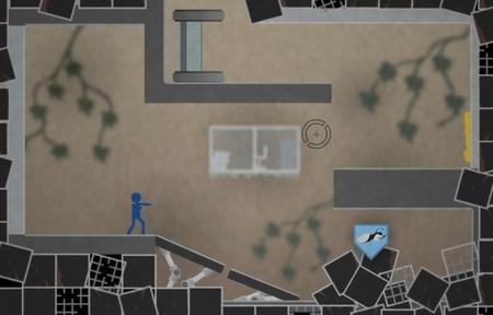 'Portal 2D', buen tributo en forma de juego en Flash del título de Valve. Ojo que engancha