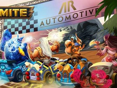 Por increíble que parezca lo nuevo de Smite es un modo al estilo Mario Kart