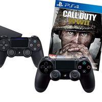 Ofertón para la PS4 de 1 TB, con 2 DualShock y Call of Duty: WWII, por sólo 349,95 euros en la Super Week de eBay