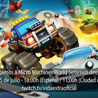 Jugamos en directo a Micro Machines World Series a las 18h (las 11h en Ciudad de México) [Finalizado]