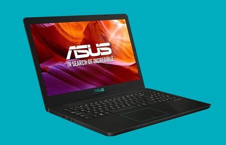 Este portátil Asus es de los más baratos, incluye procesador Ryzen, gráfica NVIDIA y vale 150 euros menos en El Corte Inglés