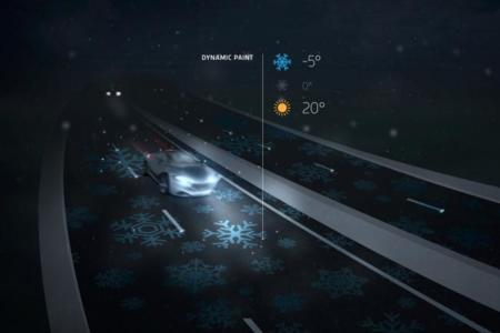 La carretera que ilumina sus líneas de noche ya es una realidad en Holanda