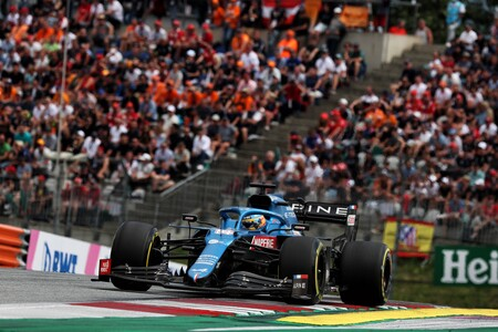 """Fernando Alonso, contra los comisarios de la Fórmula 1 en Austria: """"Fui el único que hizo la primera curva"""""""