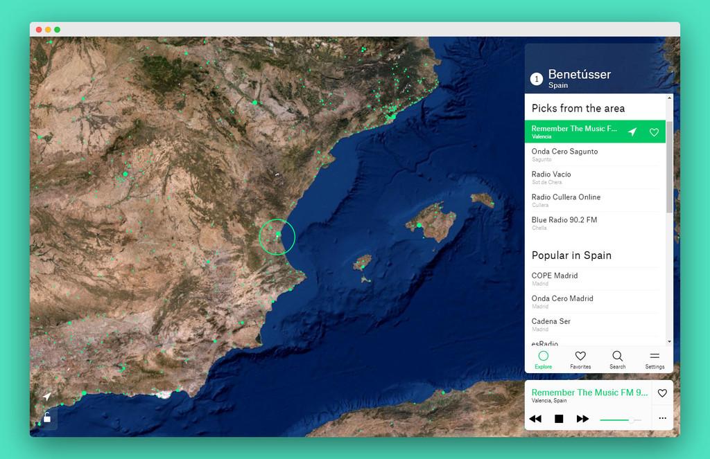 Radio Garden: explora las radios en vivo de todo el mundo rotando este genial globo terráqueo virtual
