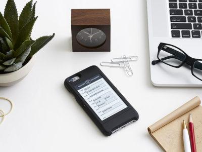 popSLATE, la funda que nos trae una segunda pantalla de tinta electrónica al iPhone