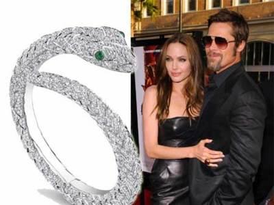 ¿Angelina y Brad diseñadores de joyas?
