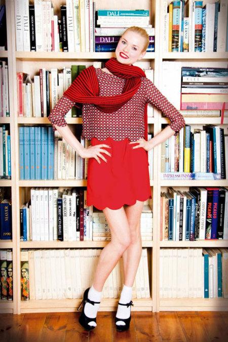 Dolores Promesas lookbook Otoño-Invierno 2012/2013: un invierno de colores