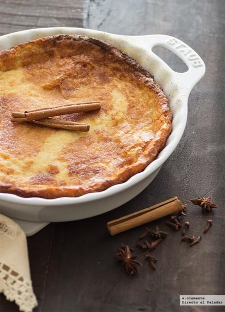 Quesada fácil con yogur y canela: receta