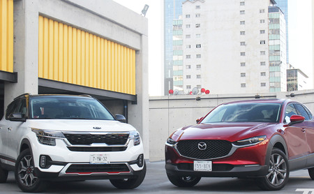 Comparativa: KIA Seltos vs. Mazda CX-30. Dos SUV con ánimo de superventas (+ video)